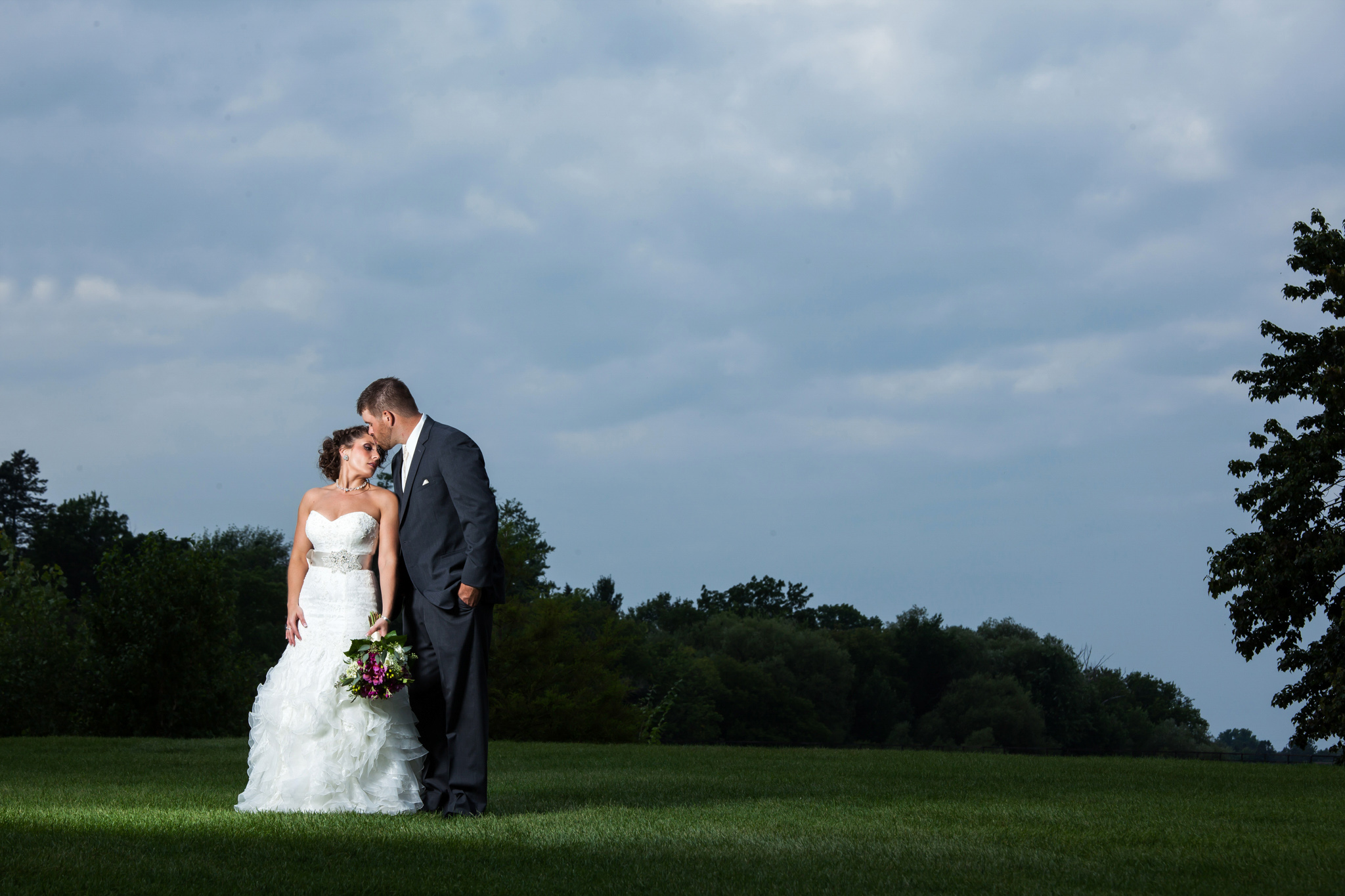 Menominee wedding photographer