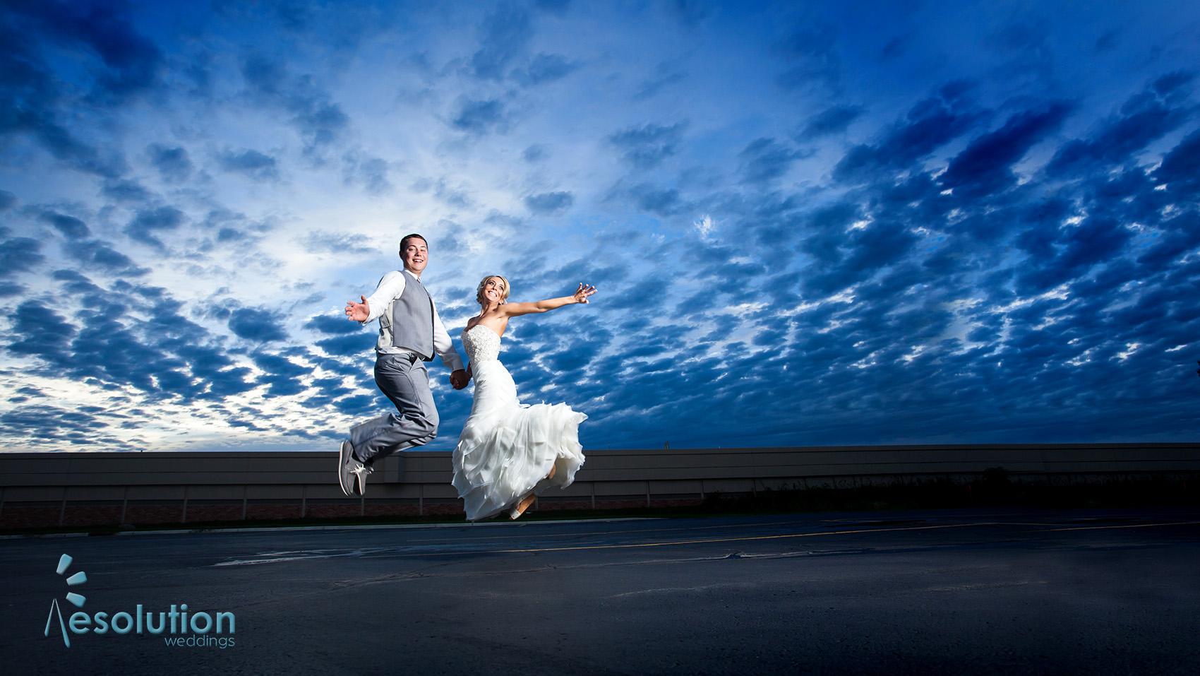 Kayla and Matt wedding day!