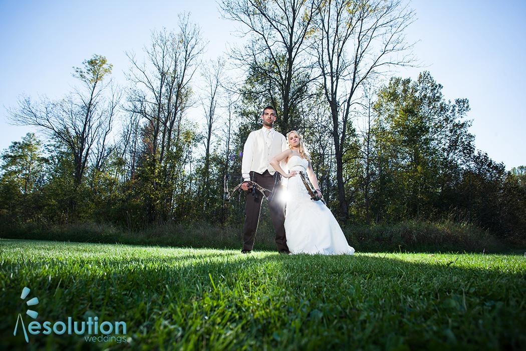Noelle and Erick – Peshtigo wedding pictures!