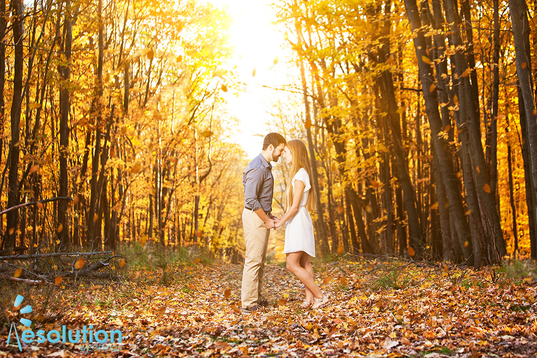 Nick and Jessica – Wausau engagement pictures!