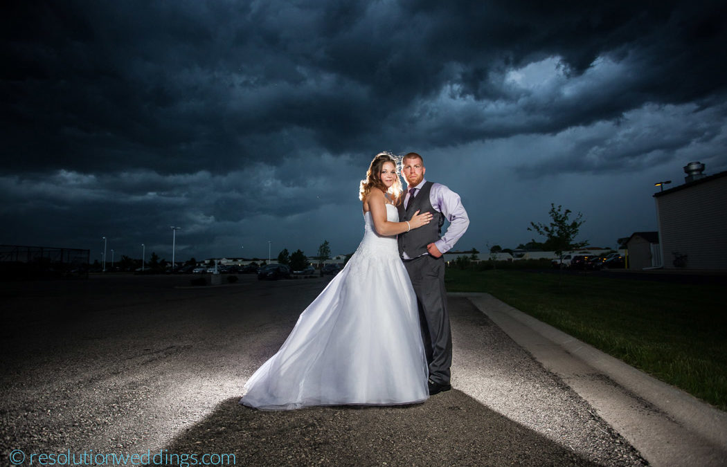 Katie and Luke – wedding photography at the Paine Arts Center in Oshkosh!