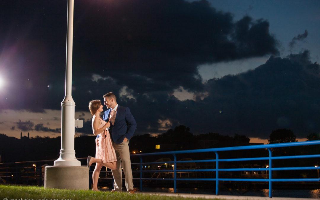 Alex and Kelsey – Kohler engagement pictures