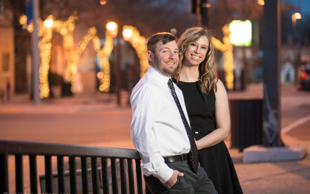 Lindsey & Craig – Green Bay engagement pictures!